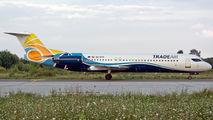 TradeAir Fokker 100 visited Craiova title=