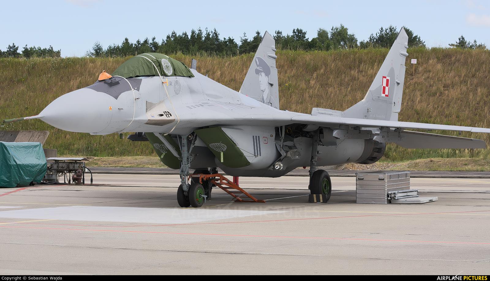 Poland - Air Force 111 aircraft at Świdwin