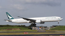 B-KPU - Cathay Pacific Boeing 777-300ER aircraft