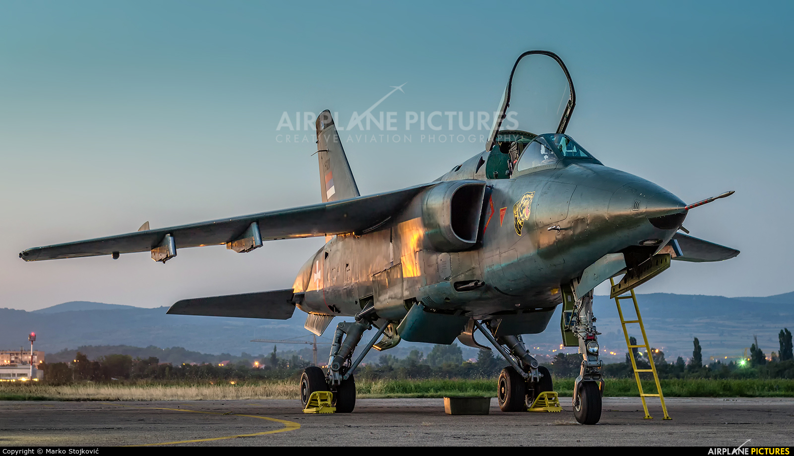Serbia - Air Force 25121 aircraft at Nis - Konstantin Veliki