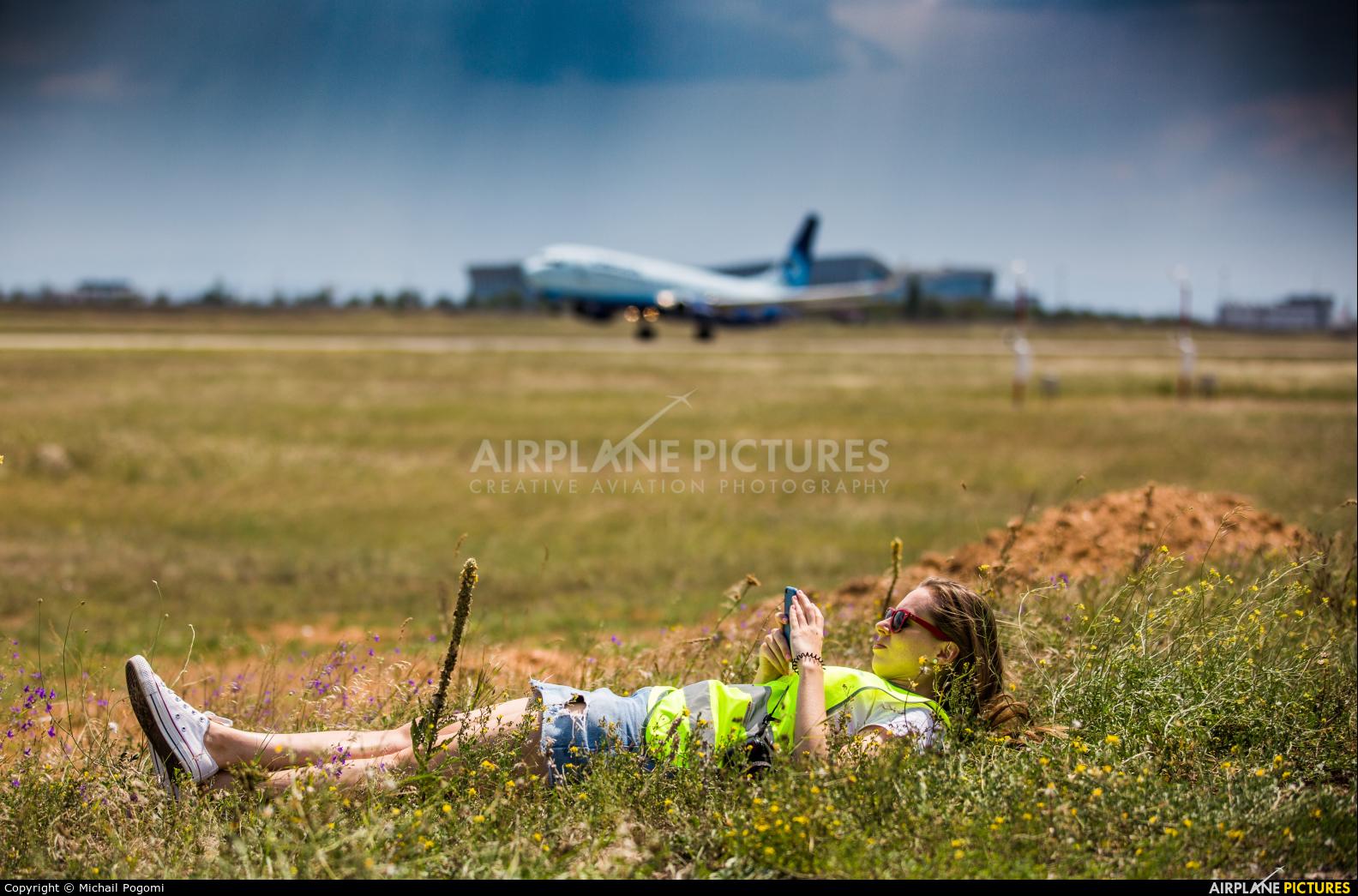 - Aviation Glamour - aircraft at Simferopol International Airport (under Russian occupation)