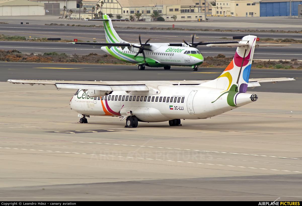 Ceiba Intercontinental 3C-LLI aircraft at Aeropuerto de Gran Canaria