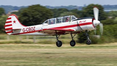 G-CBOZ - Private Yakovlev Yak-52