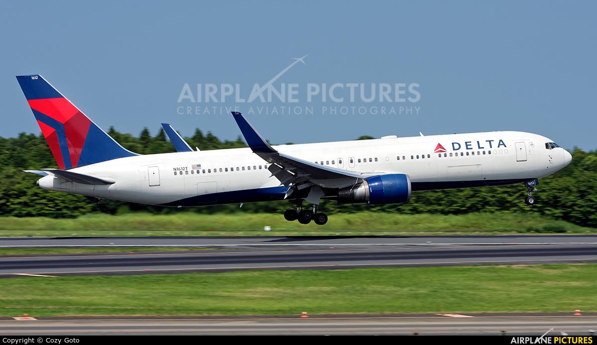 Delta Air Lines N1612T aircraft at Tokyo - Narita Intl