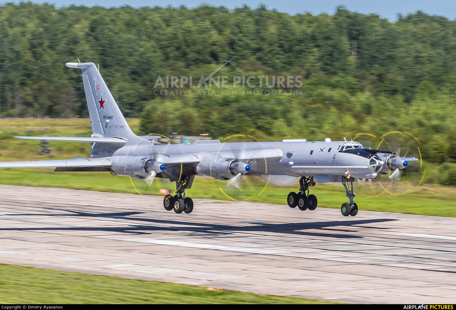 Russia - Navy RF-34097 aircraft at Undisclosed Location