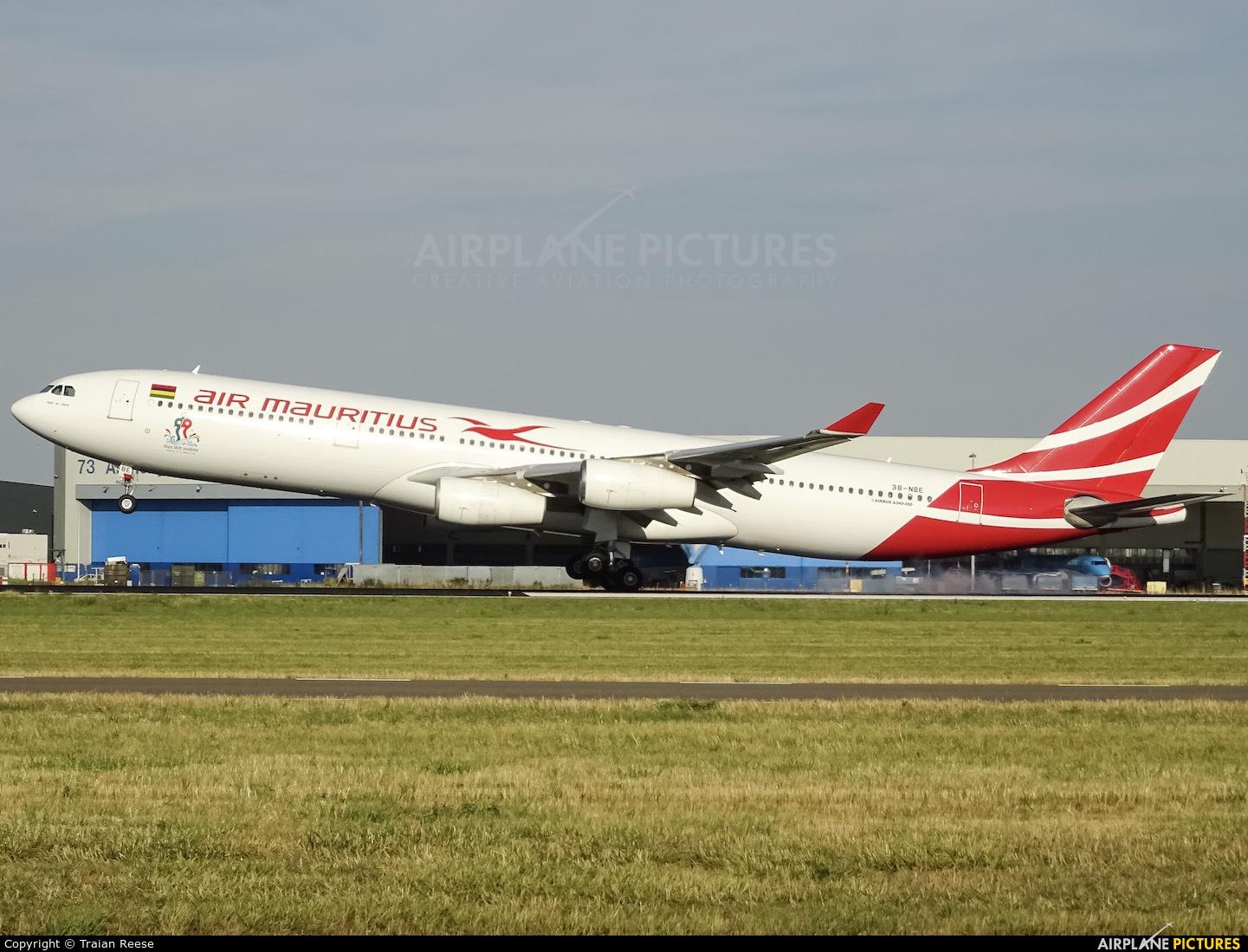 Air Mauritius 3B-NBE aircraft at Amsterdam - Schiphol