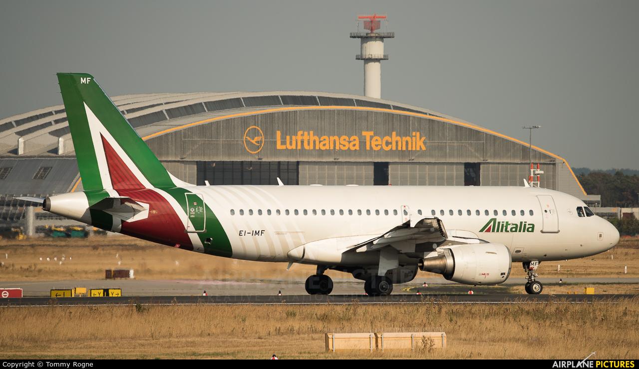 Alitalia EI-IMF aircraft at Frankfurt