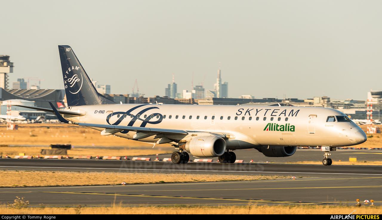 Alitalia EI-RND aircraft at Frankfurt