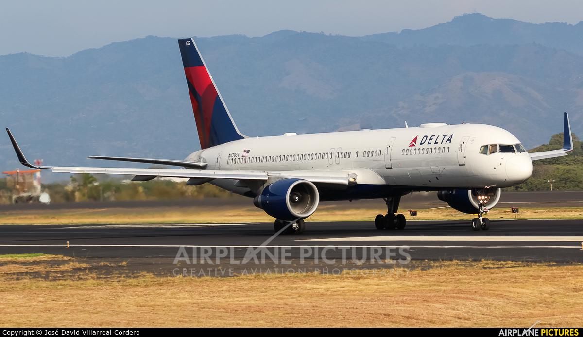 Delta Air Lines N6705Y aircraft at San Jose - Juan Santamaría Intl