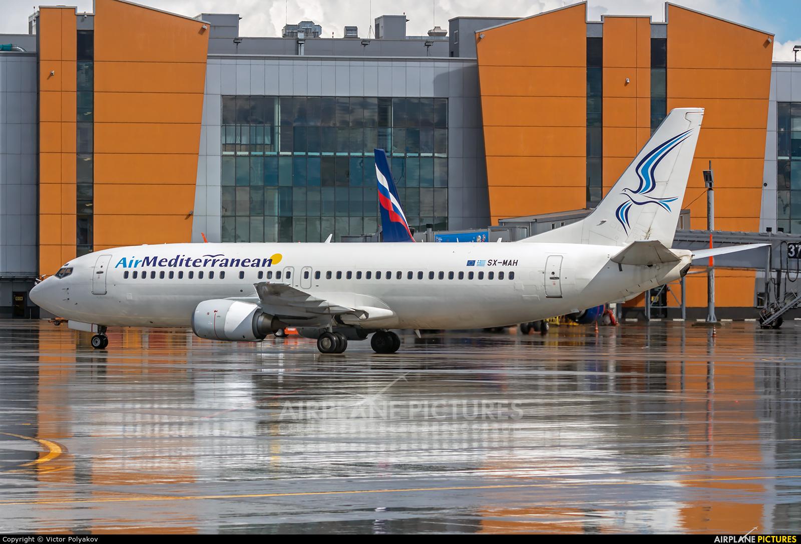Air Mediterranean SX-MAH aircraft at Moscow - Sheremetyevo