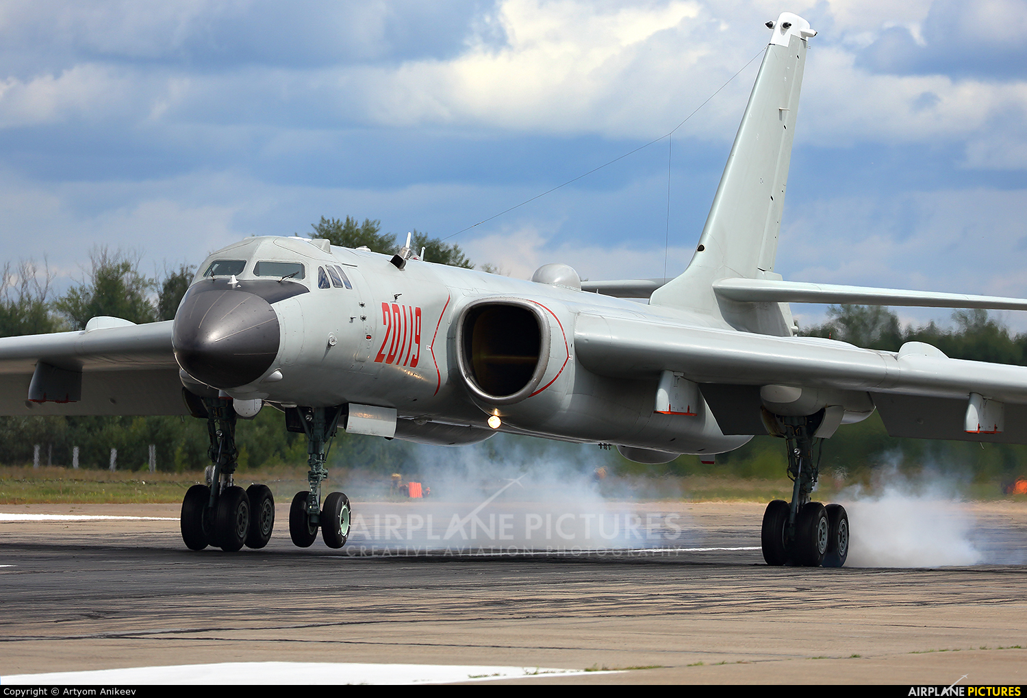 China - Air Force 20119 aircraft at Ryazan - Dyagilevo