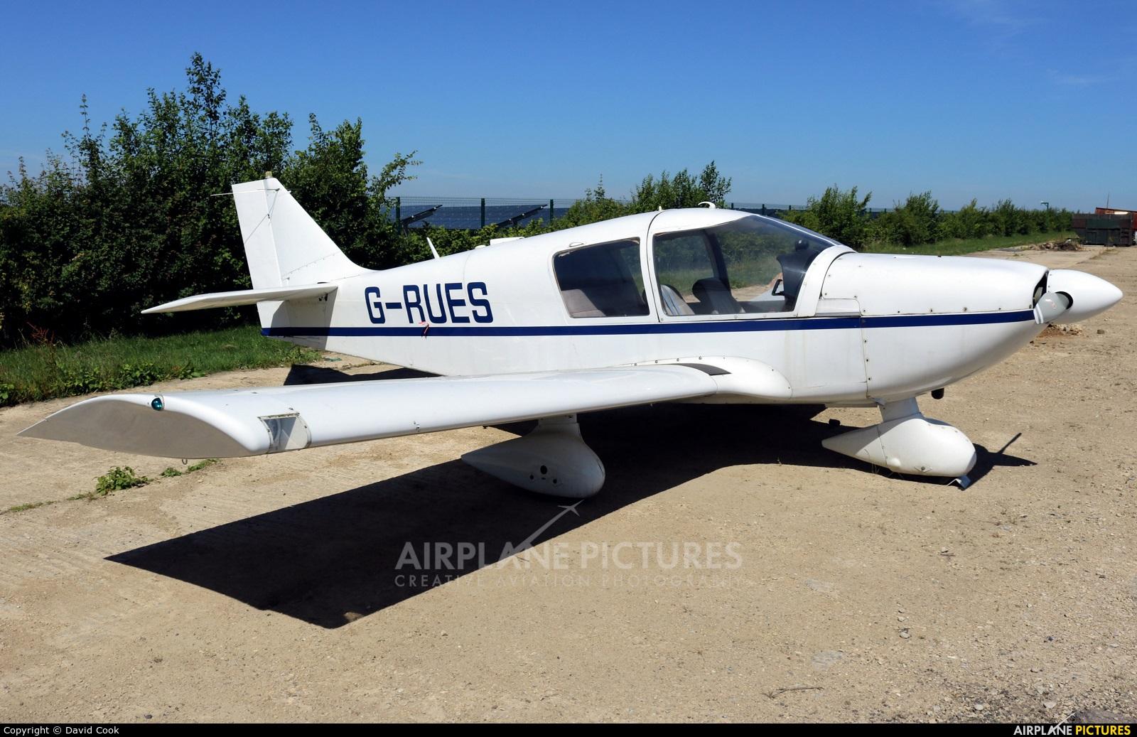 Private G-RUES aircraft at Turweston