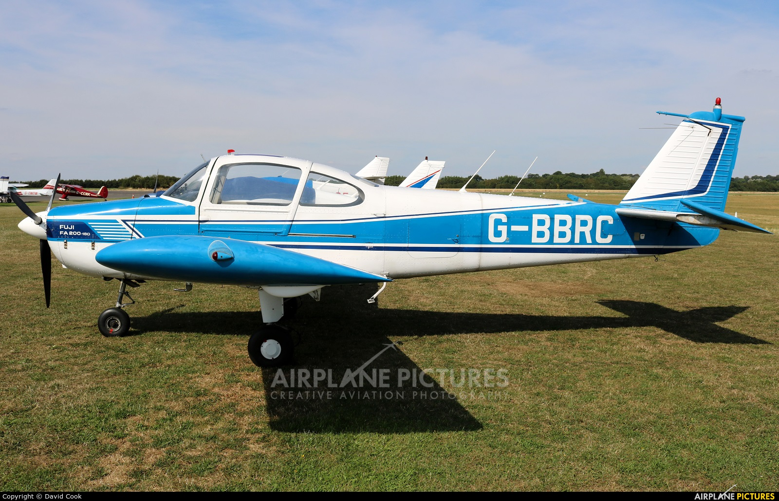 Private G-BBRC aircraft at Turweston