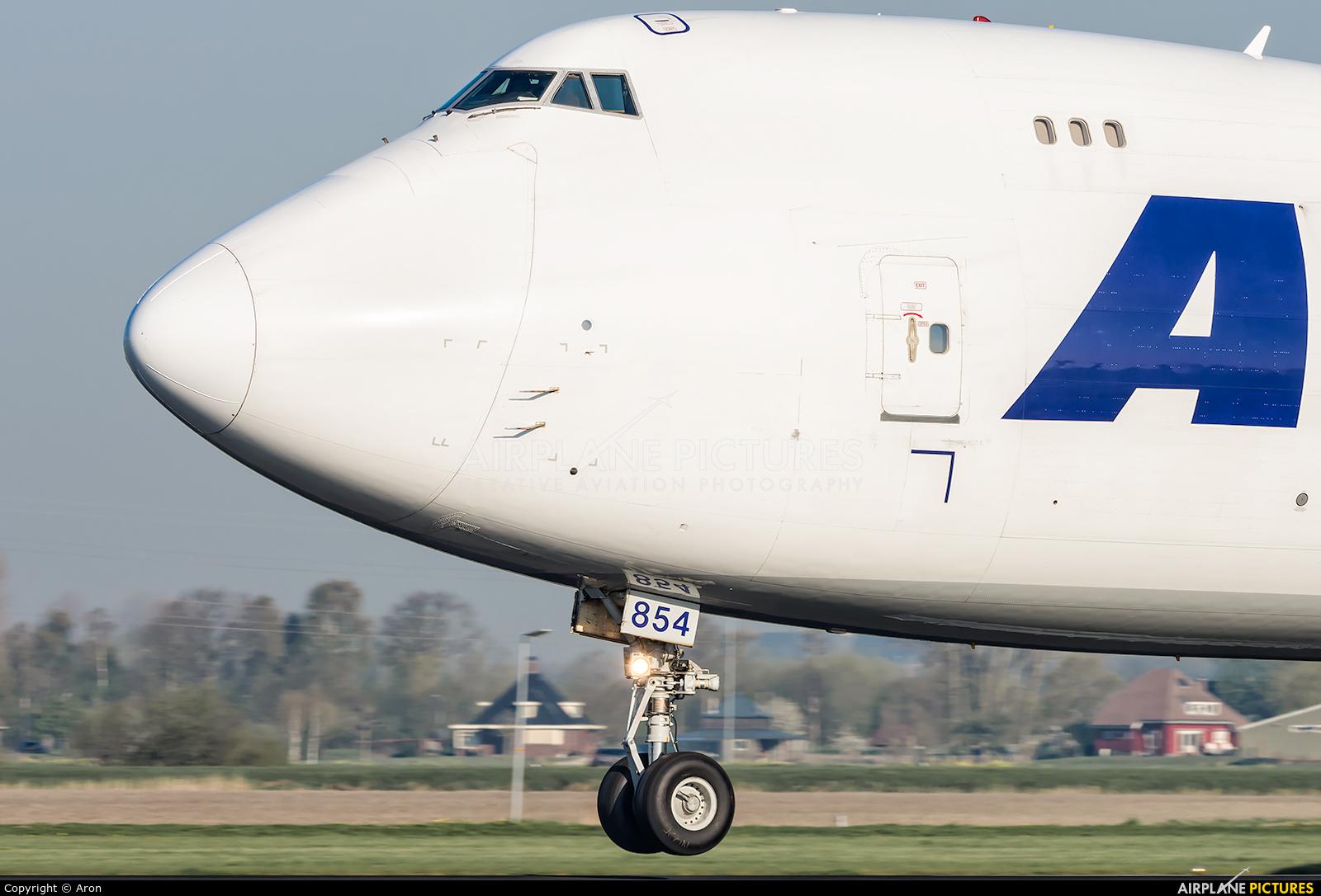Atlas Air N854GT aircraft at Amsterdam - Schiphol