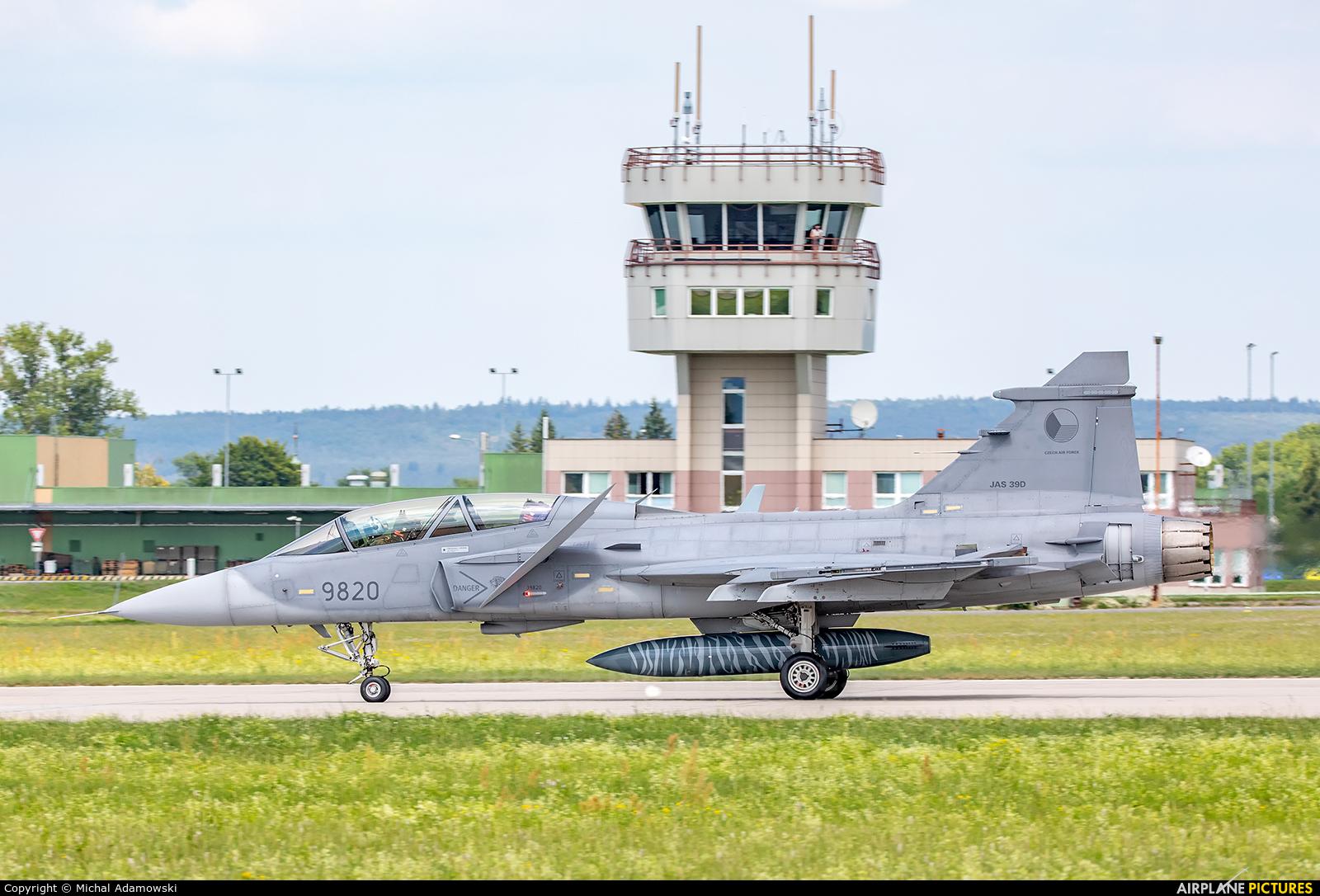 Czech - Air Force 9820 aircraft at Čáslav
