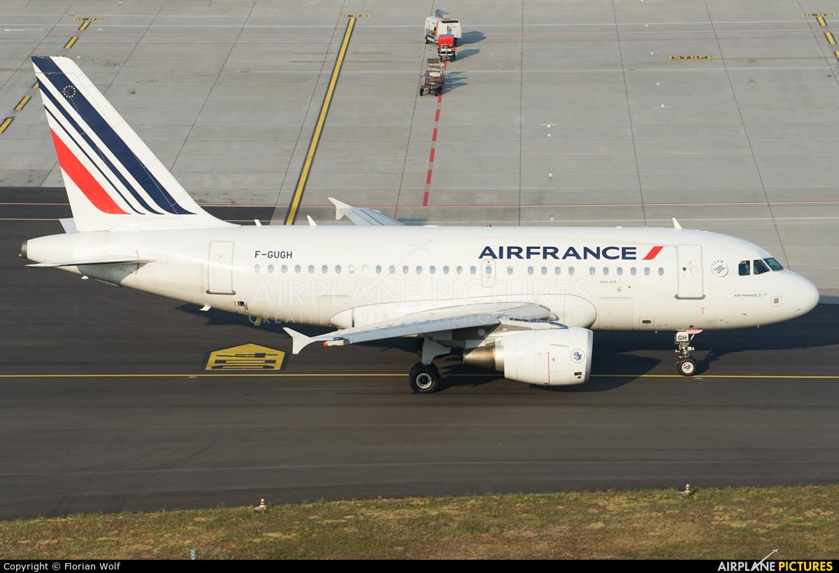 Air France F-GUGH aircraft at Zurich