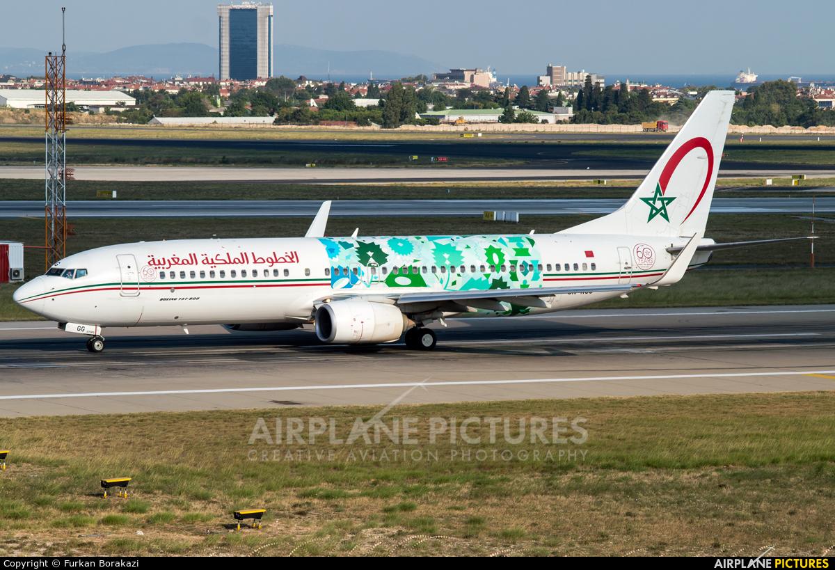 Royal Air Maroc CN-RGG aircraft at Istanbul - Ataturk