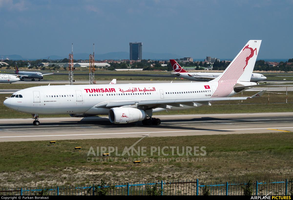 Tunisair TS-IFM aircraft at Istanbul - Ataturk