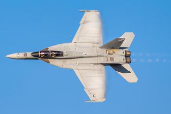 166467 - USA - Navy McDonnell Douglas F/A-18F Super Hornet