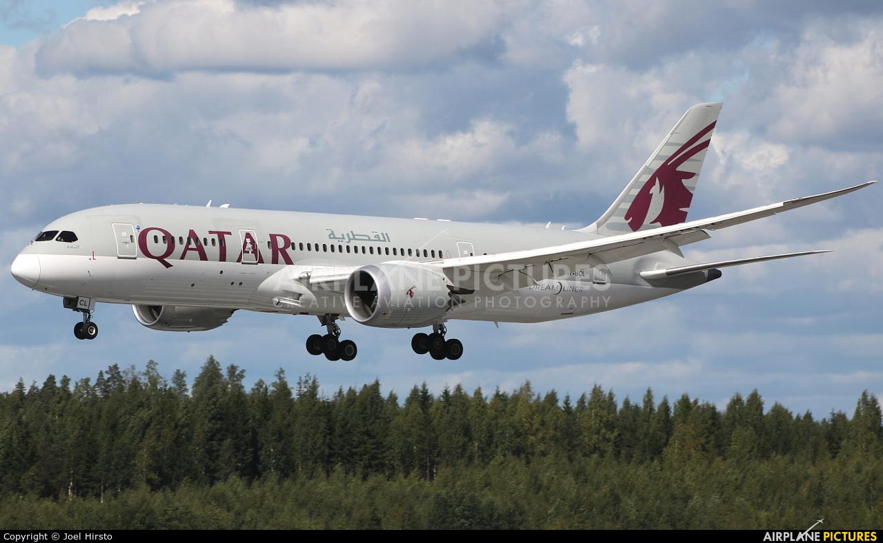 Qatar Airways A7-BCL aircraft at Helsinki - Vantaa
