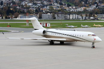 LX-FLY - Global Jet Luxembourg Bombardier BD-700 Global Express