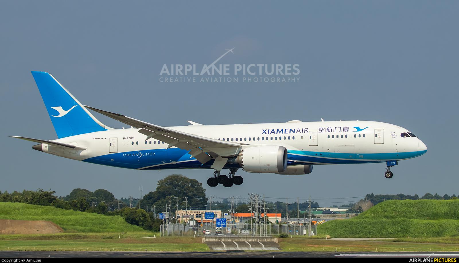 Xiamen Airlines B-2769 aircraft at Tokyo - Narita Intl