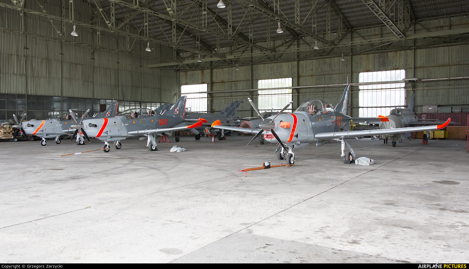 "Poland - Air Force ""Orlik Acrobatic Group"" 047 aircraft at Zagreb"