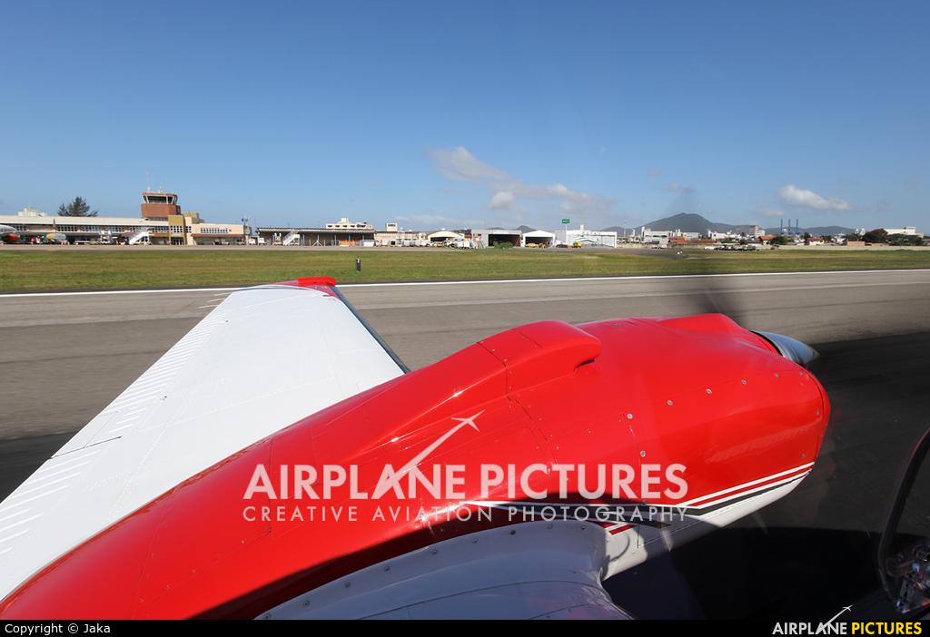 Private PP-VIA aircraft at Navegantes - SC