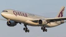 A7-AEO - Qatar Airways Airbus A330-300 aircraft