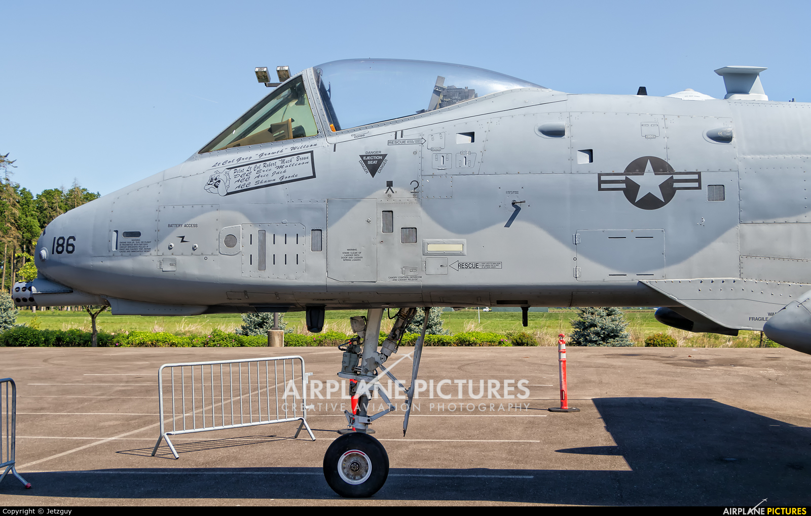 USA - Air Force 80-0186 aircraft at McMinnville - Evergreen Aviation & Space Museum
