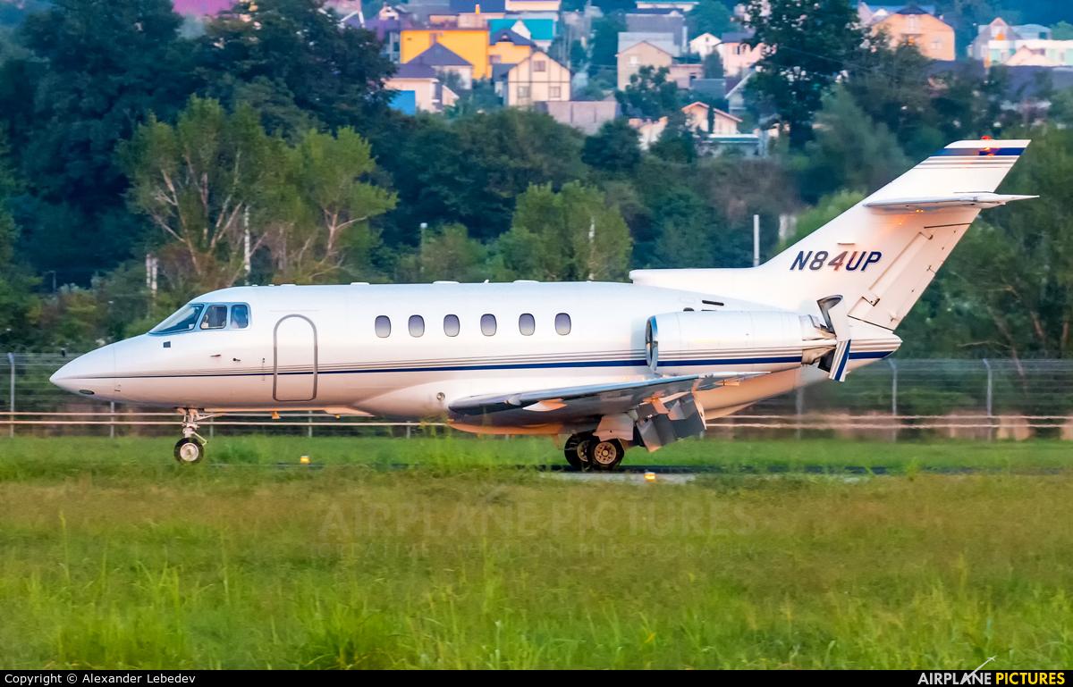 Private N84UP aircraft at Sochi Intl