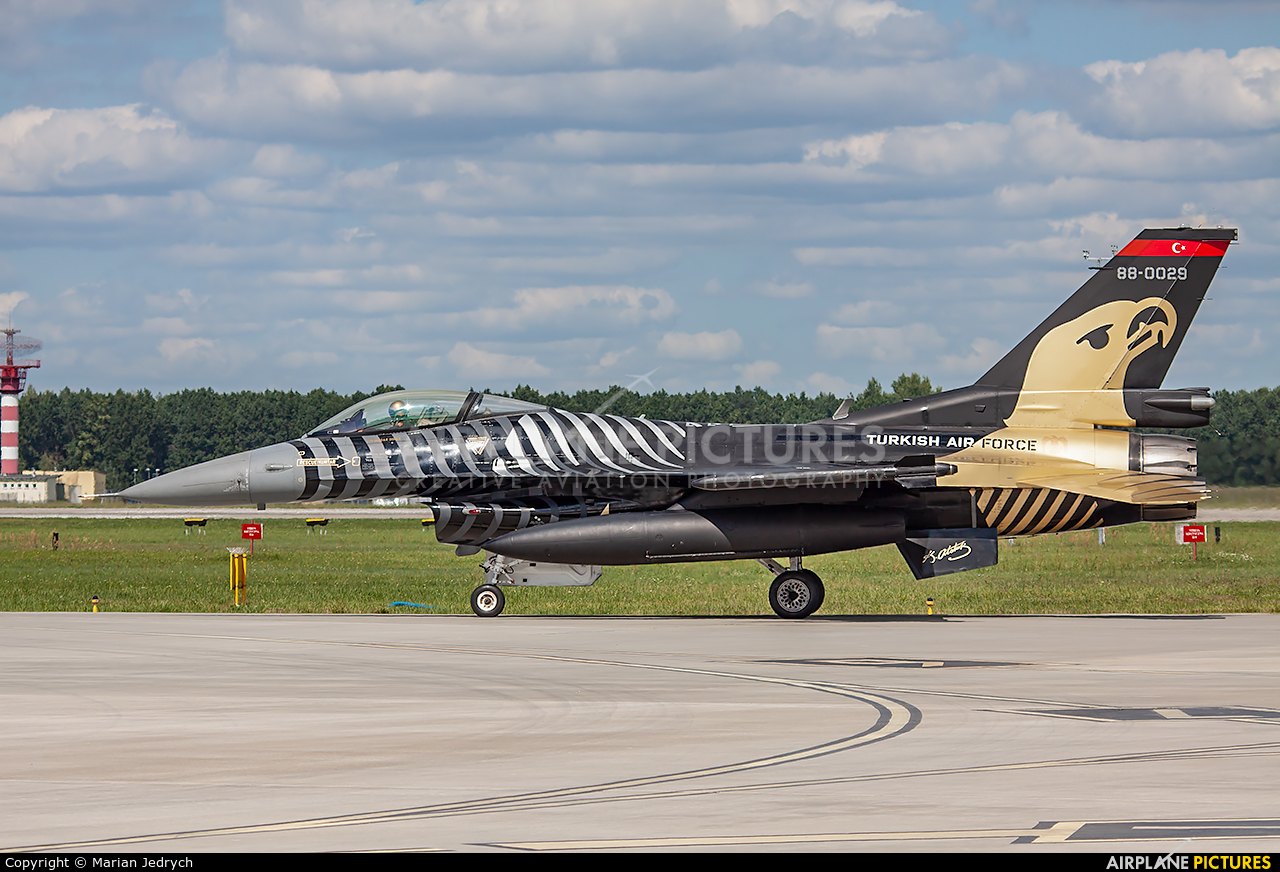 Turkey - Air Force 88-0029 aircraft at Dęblin