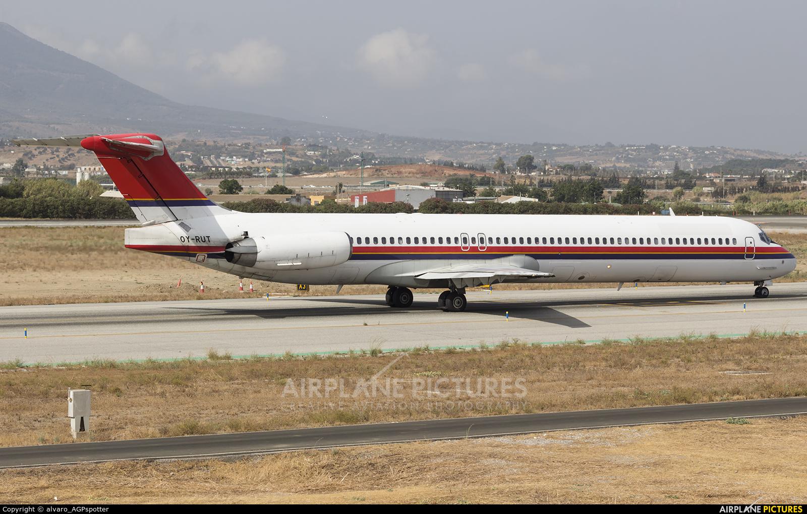 Danish Air Transport OY-RUT aircraft at Málaga