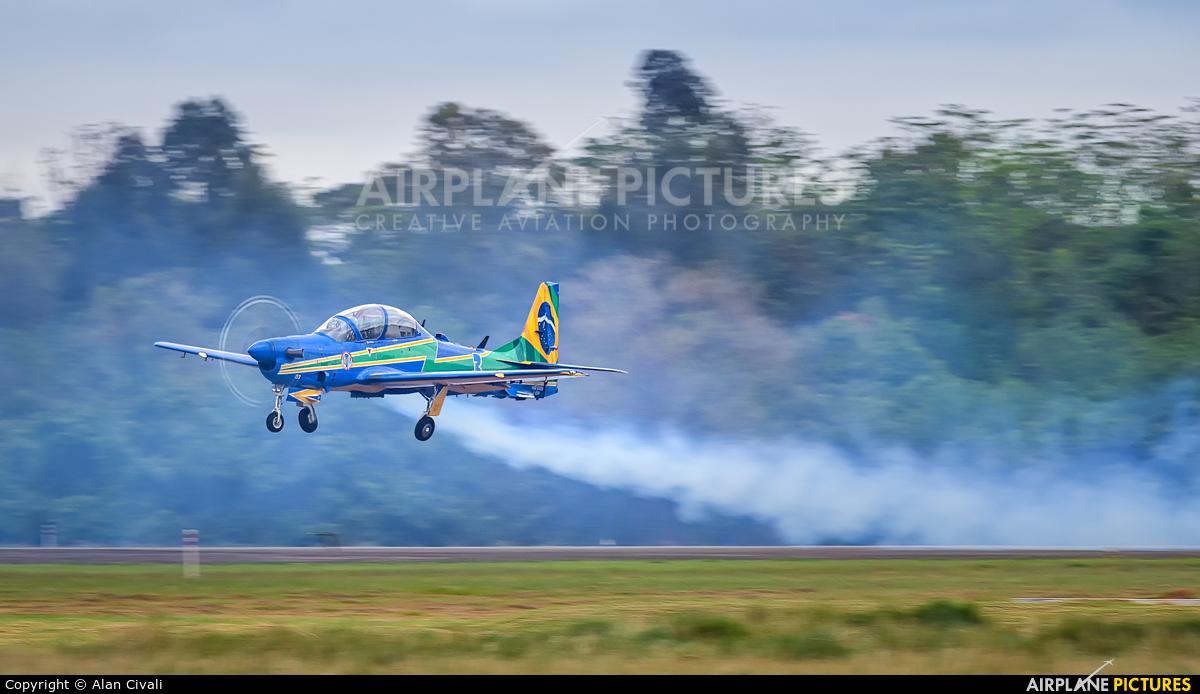 """Brazil - Air Force """"Esquadrilha da Fumaça"""" FAB5703 aircraft at São Paulo - Campo de Marte"""