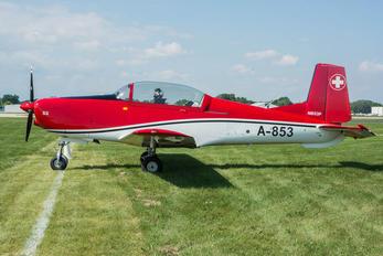 N853P - Private Pilatus P-3