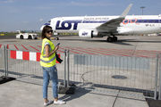 SP-LII - LOT - Polish Airlines - Aviation Glamour - People, Pilot aircraft