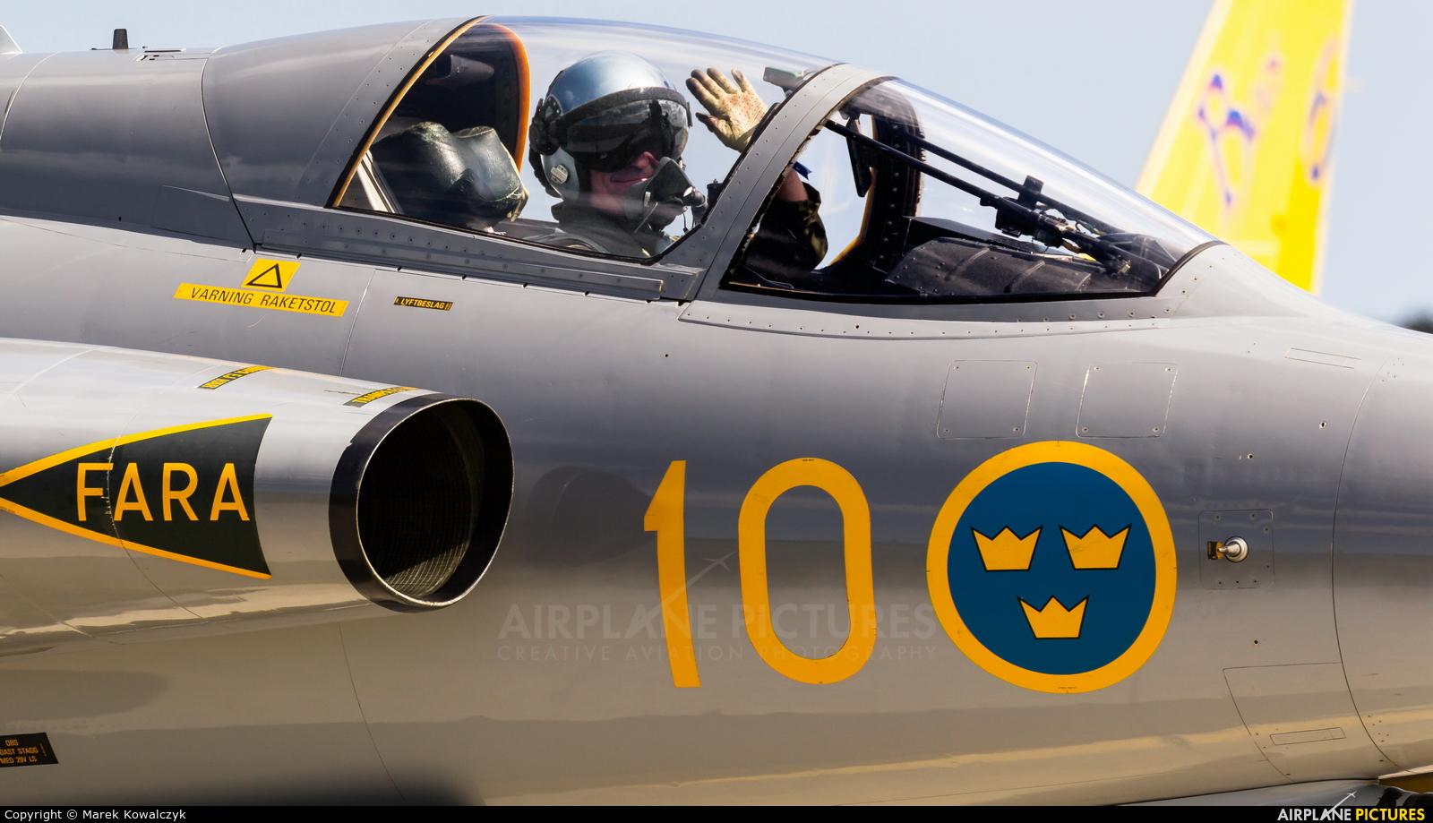 Swedish Air Force Historic Flight SE-DXR aircraft at Gdynia- Babie Doły (Oksywie)