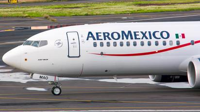 XA-MAO - Aeromexico Boeing 737-8 MAX
