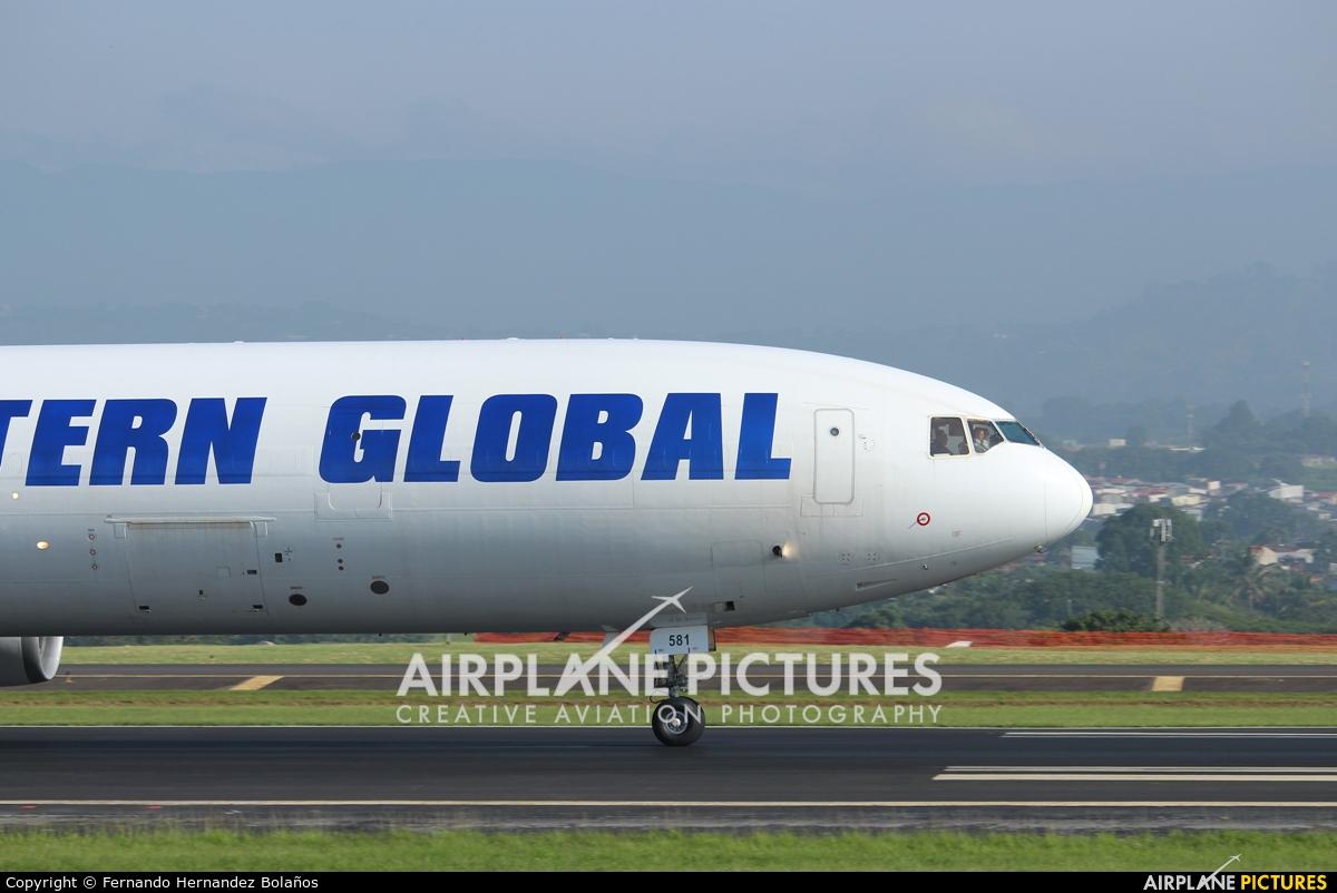 Western Global Airlines N581JN aircraft at San Jose - Juan Santamaría Intl