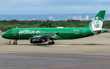 N595JB - JetBlue Airways Airbus A320
