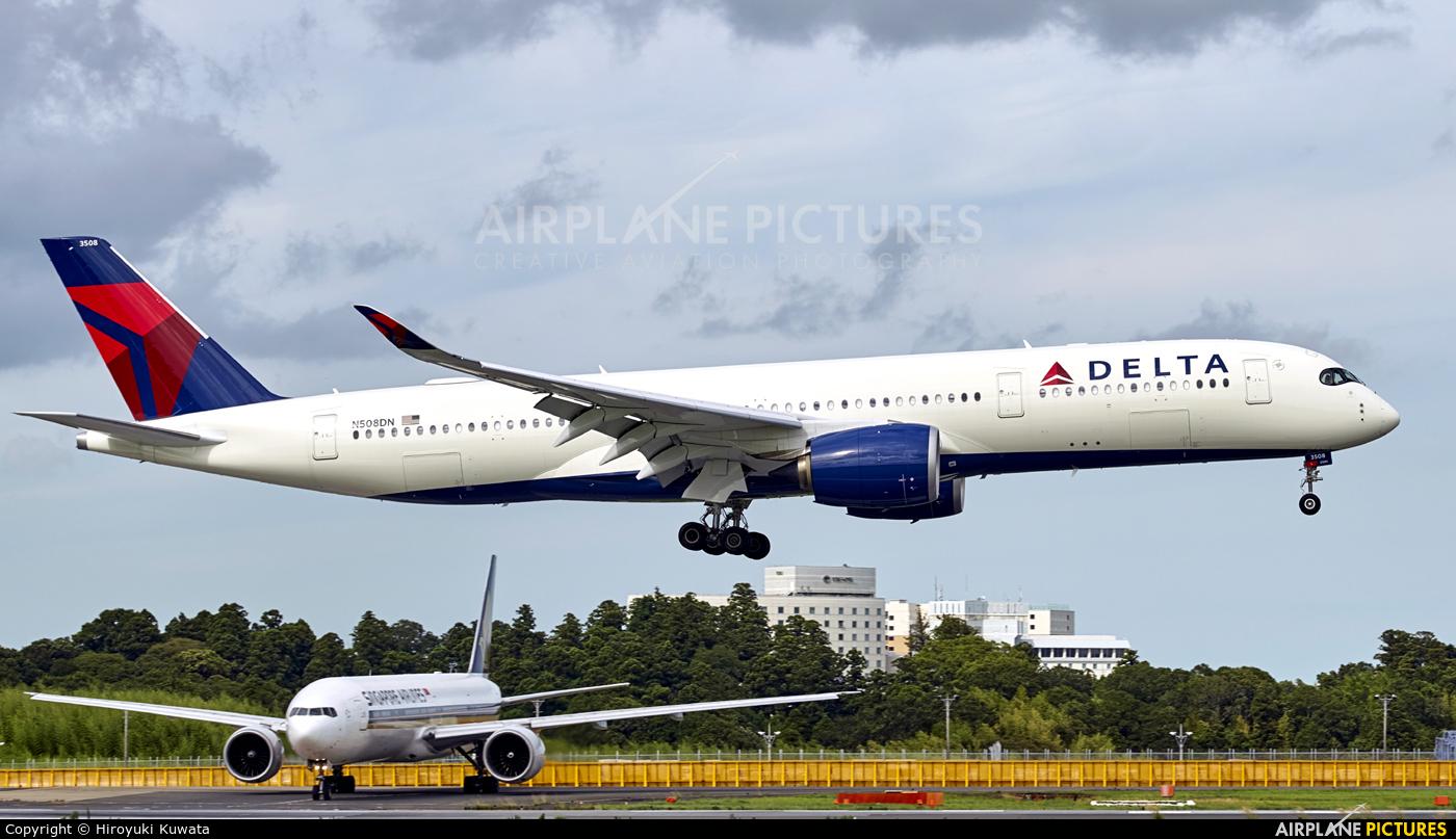 Delta Air Lines N508DN aircraft at Tokyo - Narita Intl