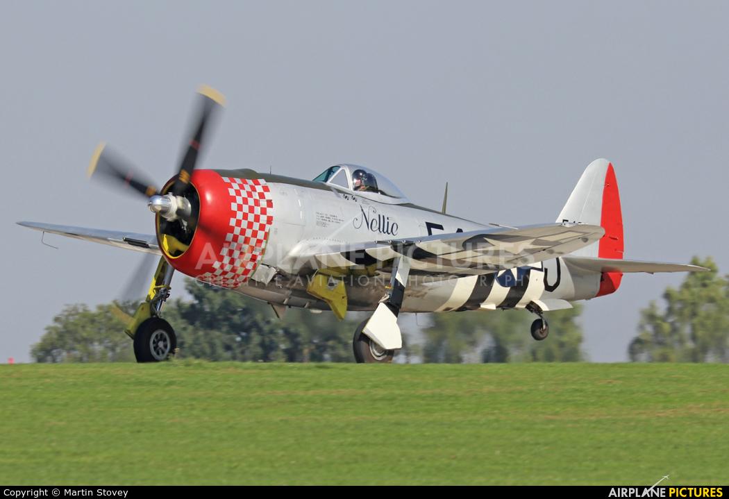Private G-THUN aircraft at Northampton / Sywell