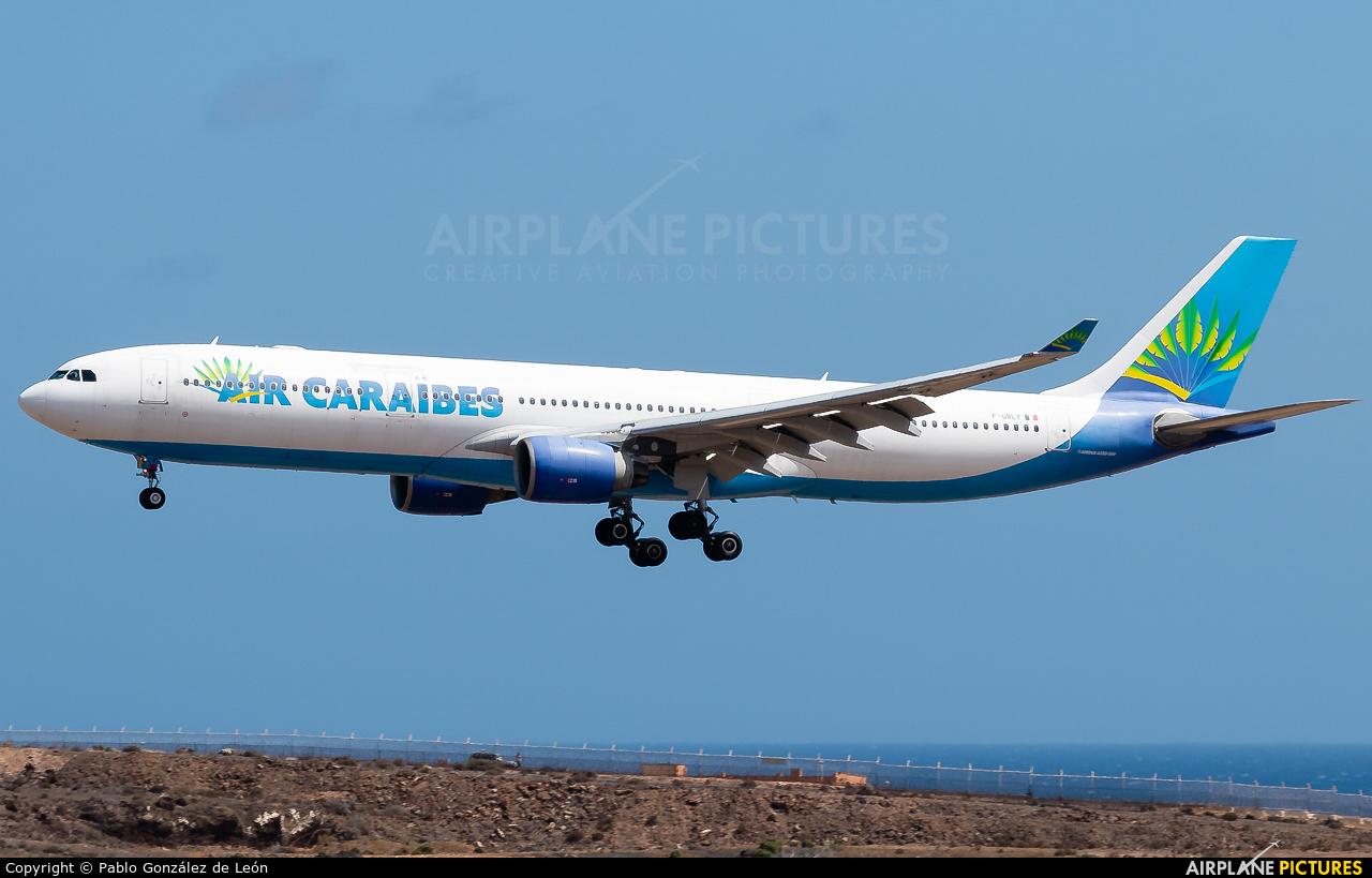 Air Caraibes F-ORLY aircraft at Aeropuerto de Gran Canaria