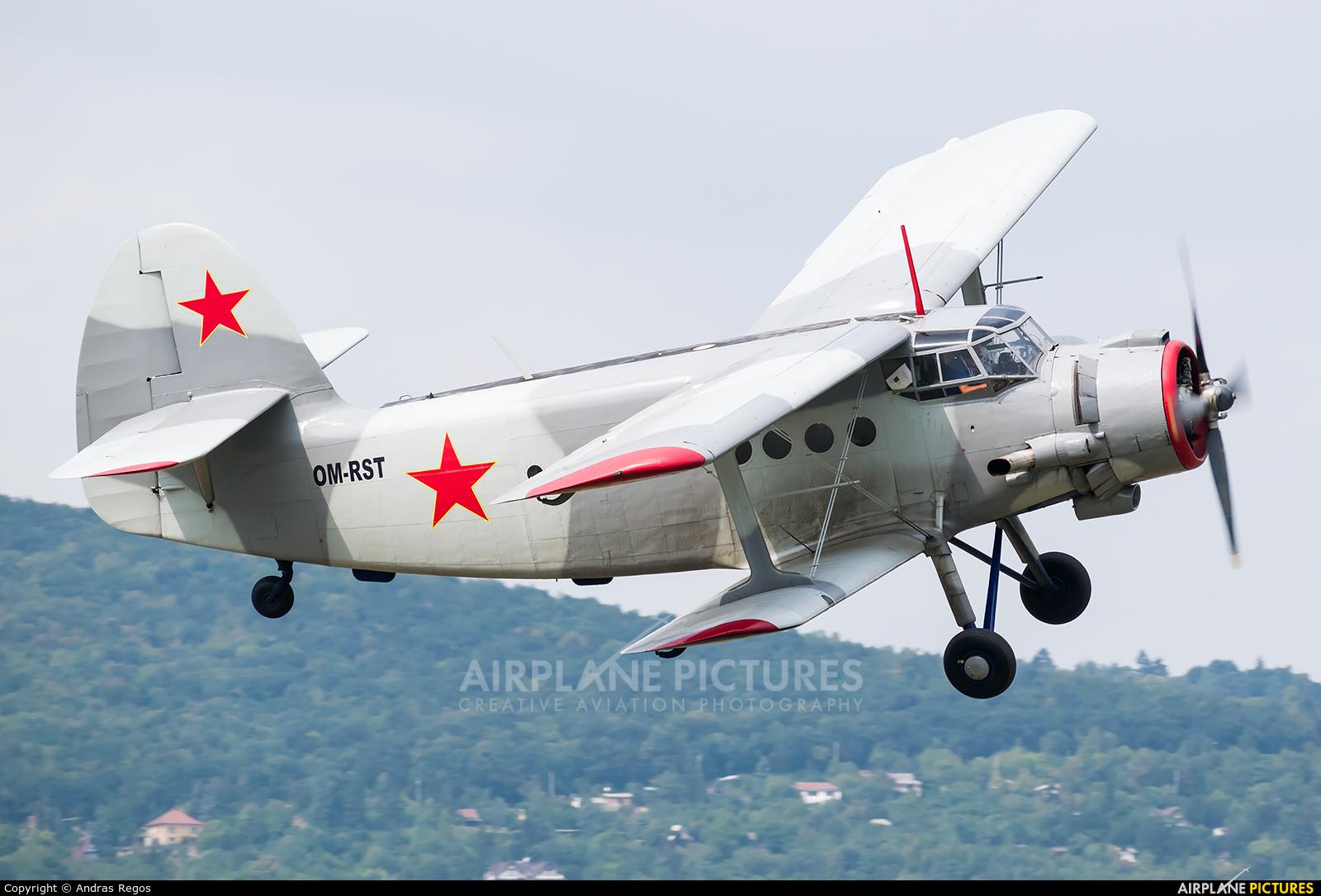 Aeroklub Kosice OM-RST aircraft at Budaors