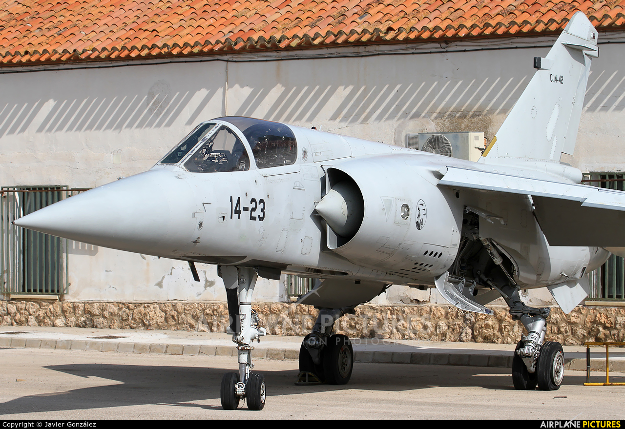 Spain - Air Force C.14-42 aircraft at Albacete