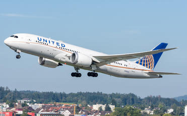 N26906 - United Airlines Boeing 787-8 Dreamliner