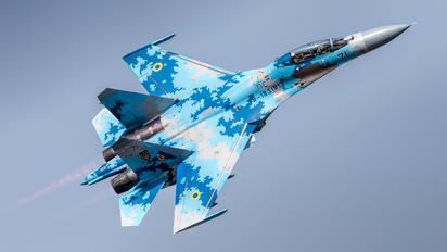71 - Ukraine - Air Force Sukhoi Su-27UB