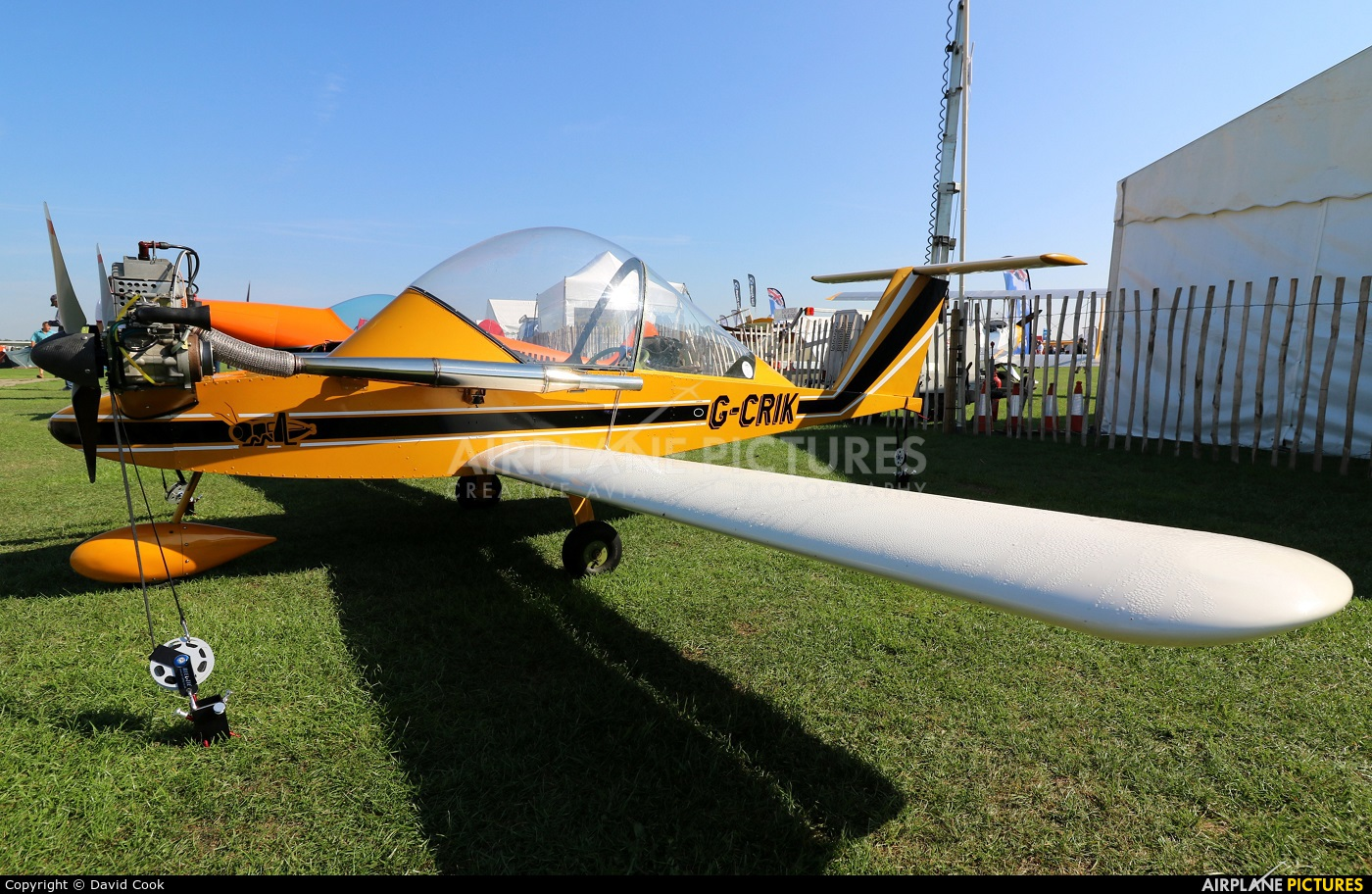 Private G-CRIK aircraft at Northampton / Sywell