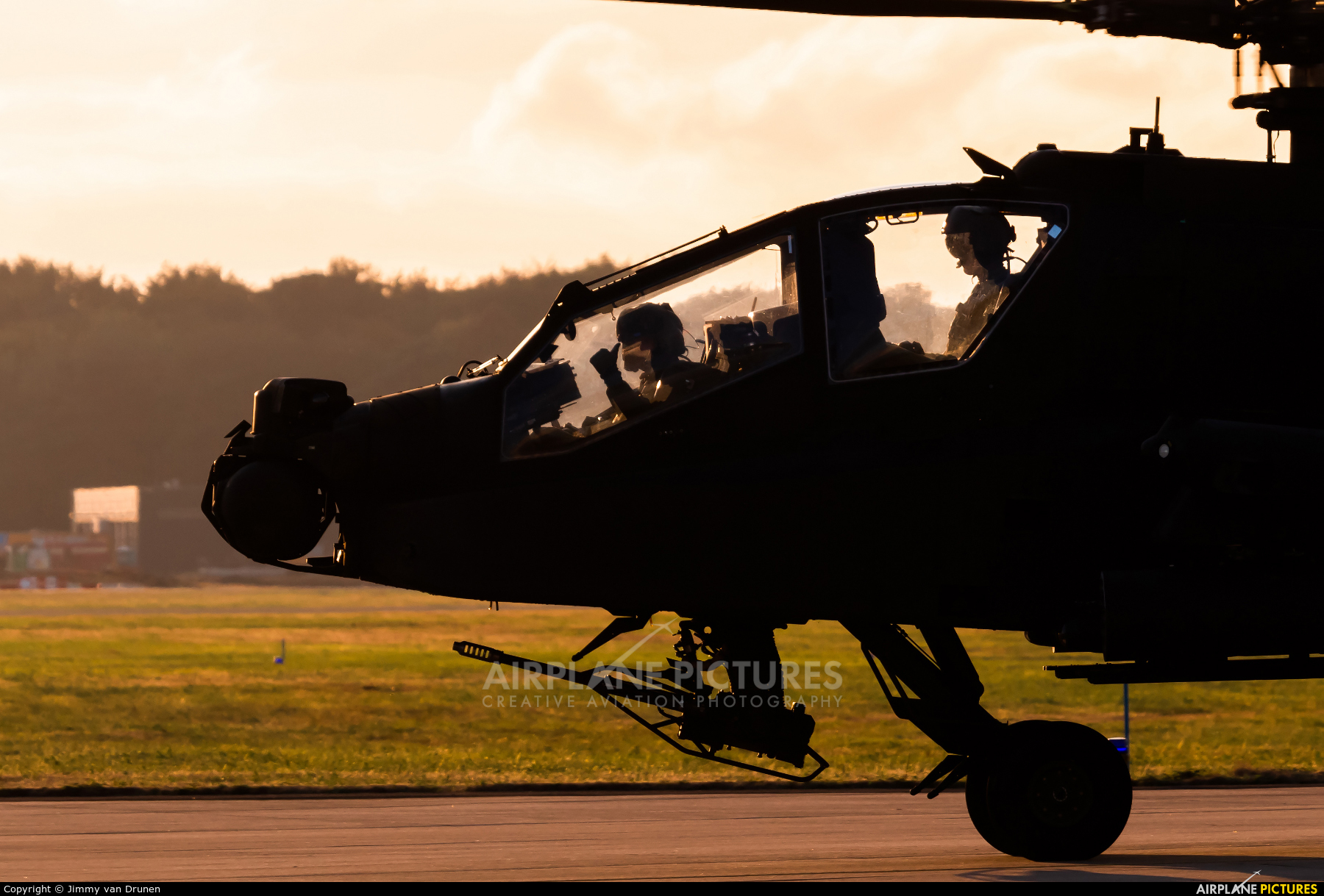 Netherlands - Air Force Q-16 aircraft at Gilze-Rijen