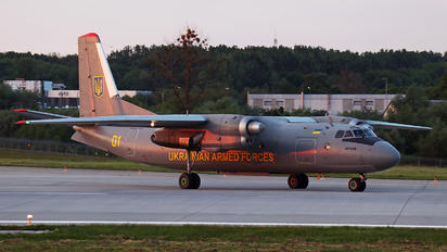 01 - Ukraine - Air Force Antonov An-24